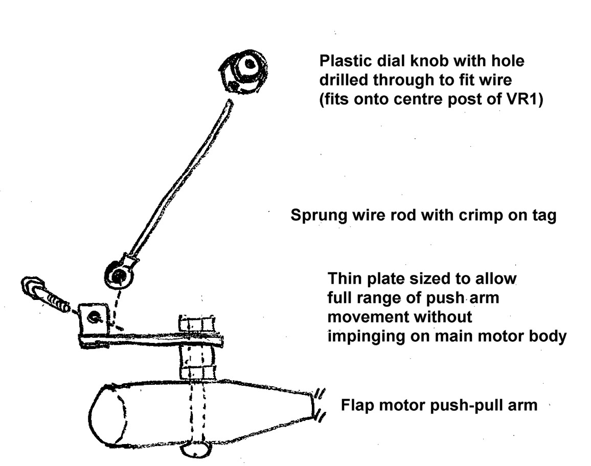 Since Flying Ic Lm3914 Pin Diagram Image Of Prototype Vr1 Bracket And Swing Arm